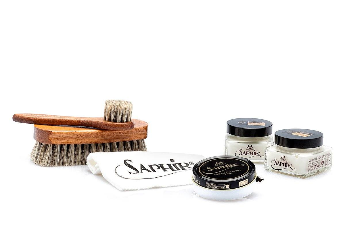 LEATHER SHOE CARE KIT