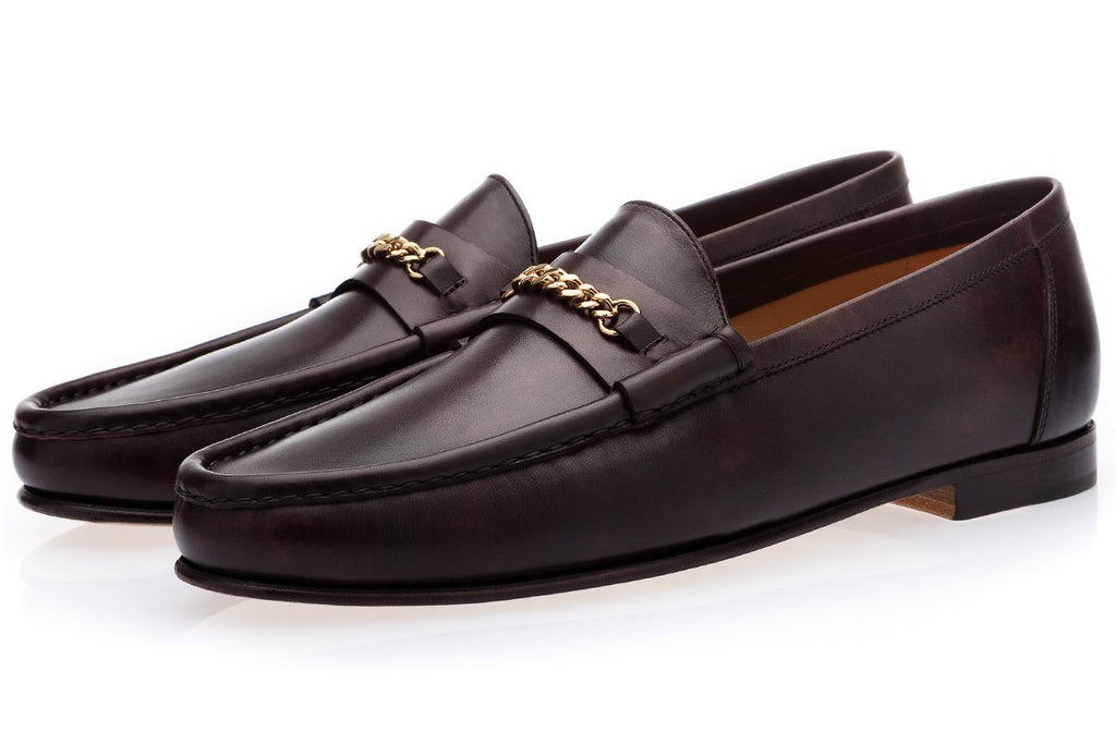 LOGAN RADICA COCOA LOAFERS Loafers Superglamourous