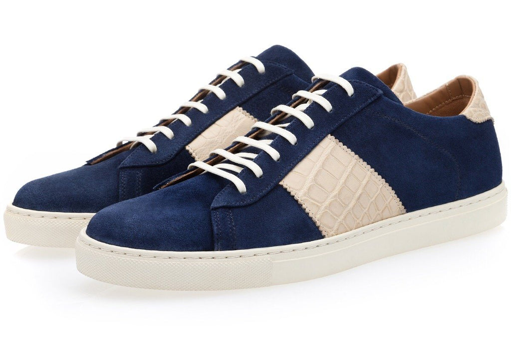 LOWELL SOFTY NAVY LOW TOP