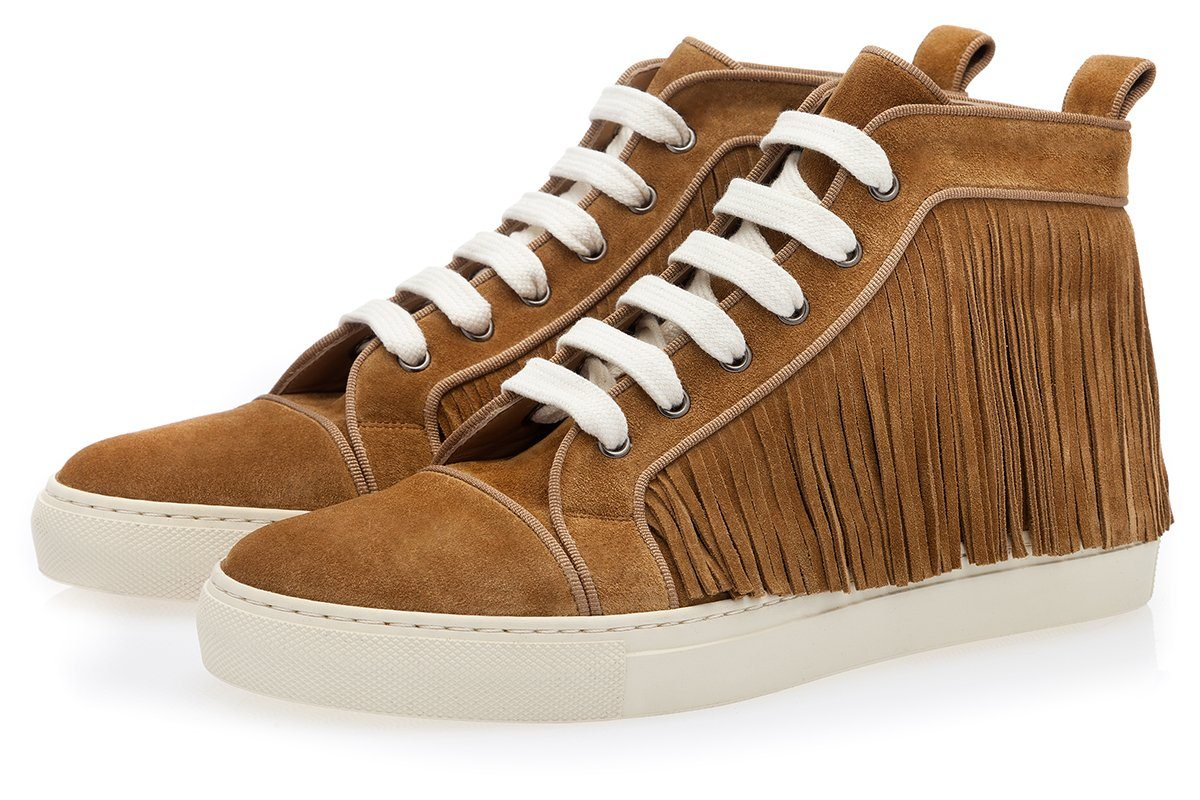MANZANARES SOFTY CARAMEL HIGH TOP