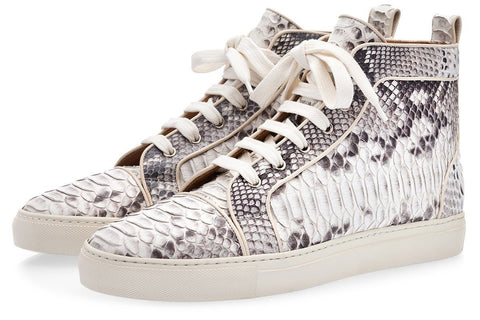 MAXIME PYTHON STONE HIGH TOP Sneakers Superglamourous
