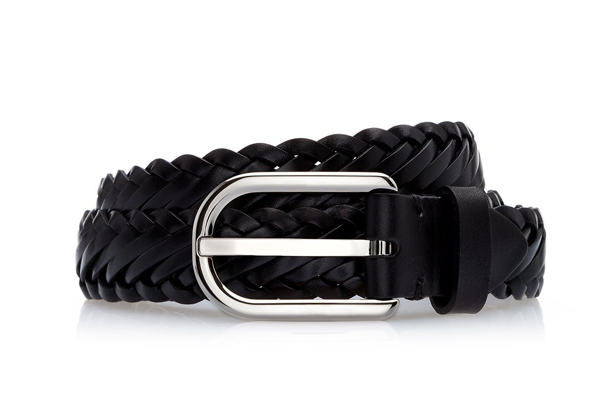 NASSAU BRAIDED BLACK BELT