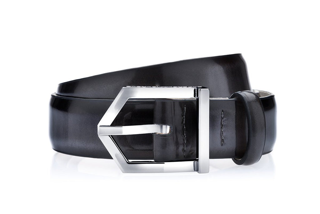 ODILON BRUSHED GREY BELT