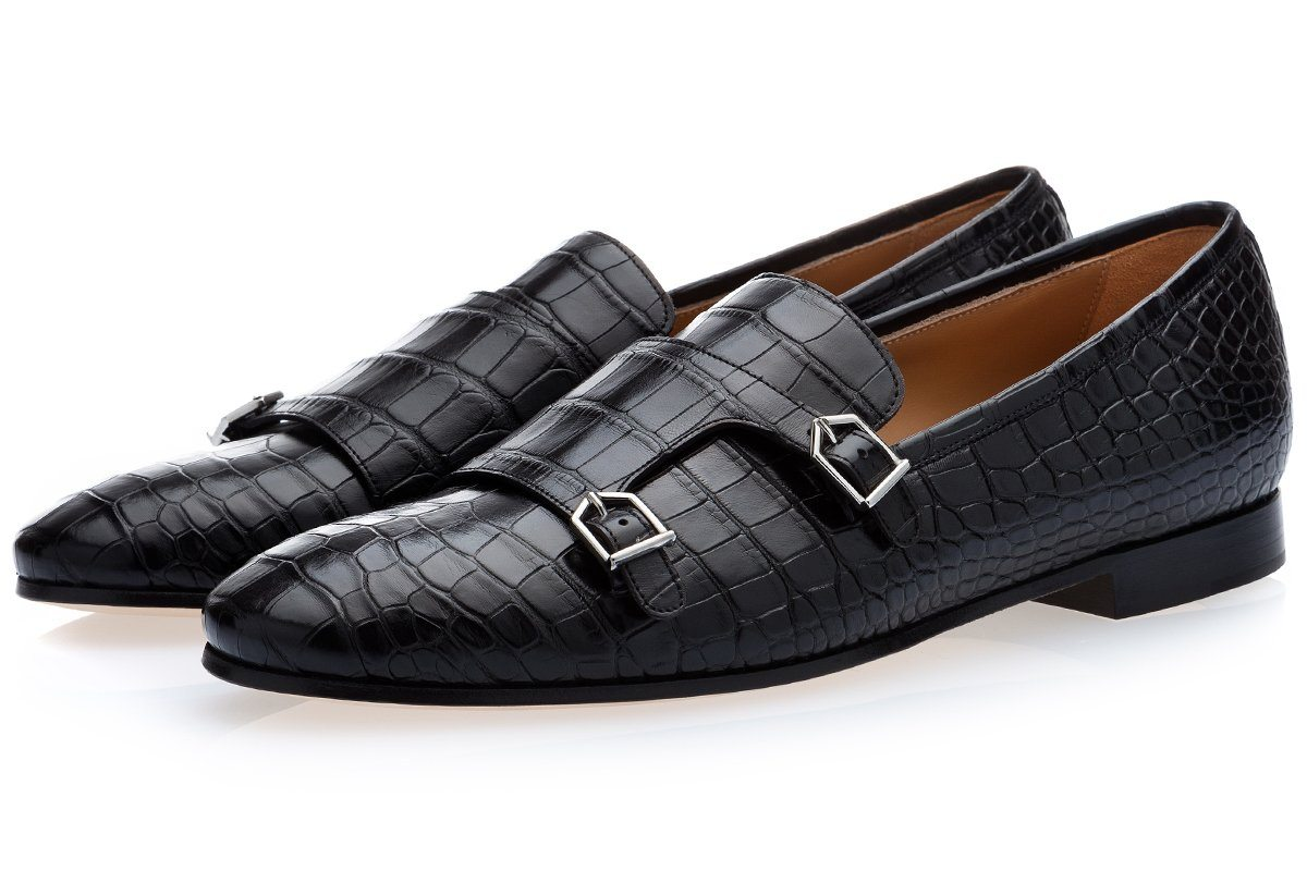 ODILON MISSISSIPPI BLACK LOAFERS