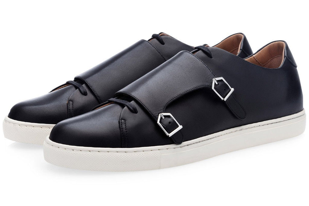 ODILON NAPPA BLACK LOW TOP