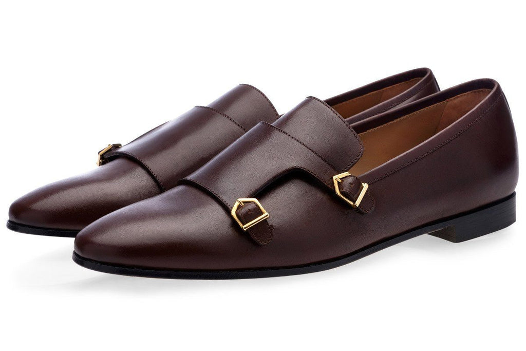 ODILON NAPPA COCOA LOAFERS Loafers Superglamourous
