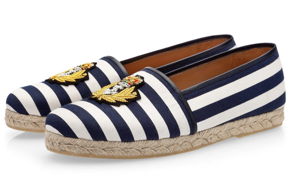 RAOUL PABLO NAVY ROPE Espadrilles Superglamourous