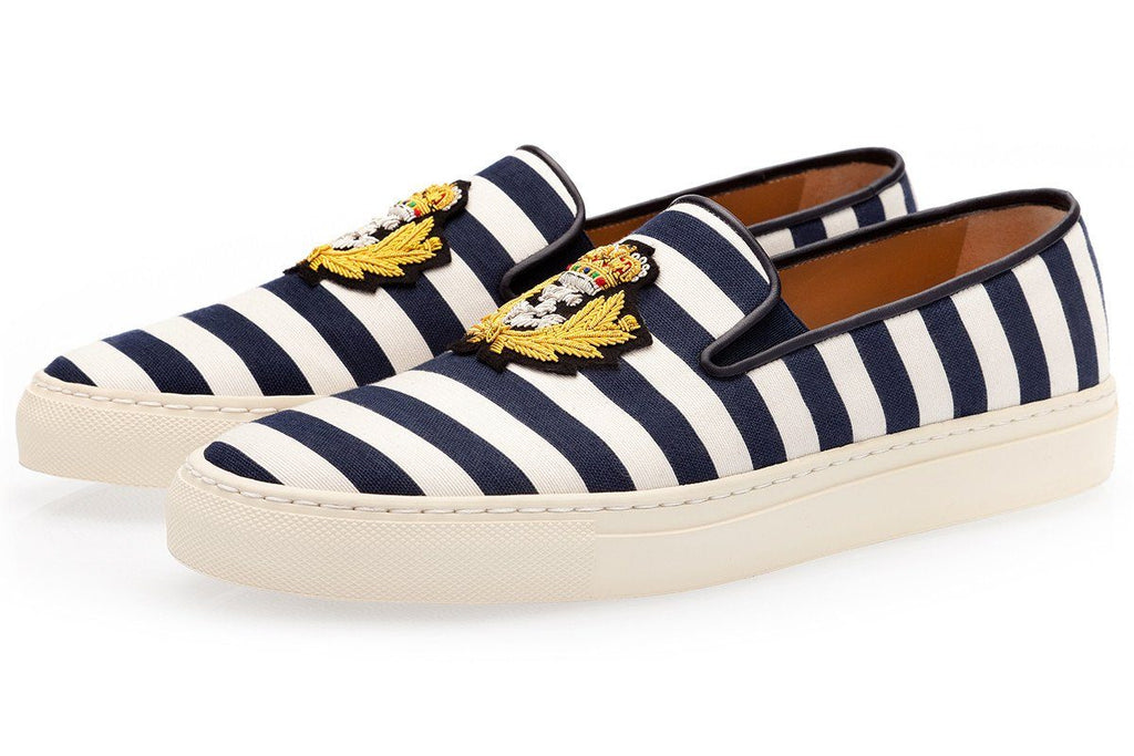 RAOUL PABLO NAVY SKATE Sneakers Superglamourous
