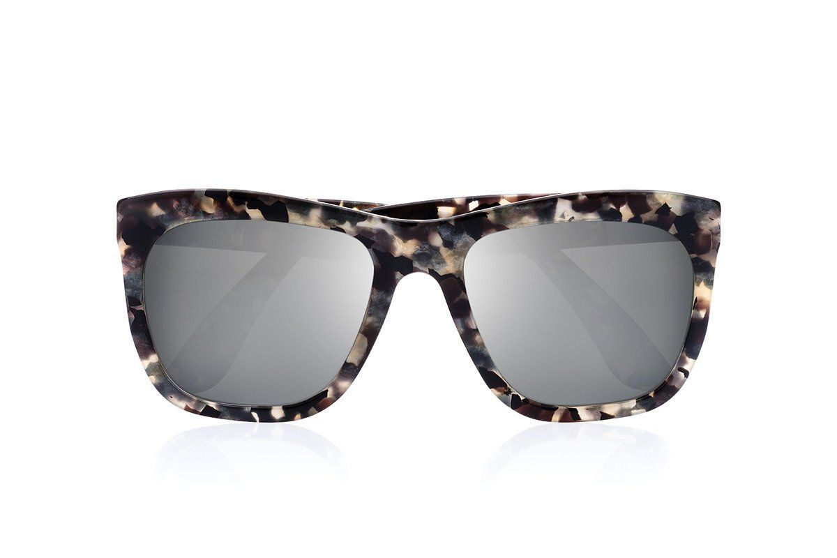 PHEBO ACETATE OCEAN SUNGLASSES