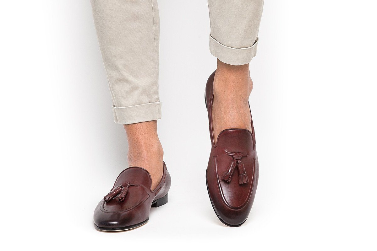 ff9553a08b2 PHILIPPE NAPPA BROWN LOAFERS