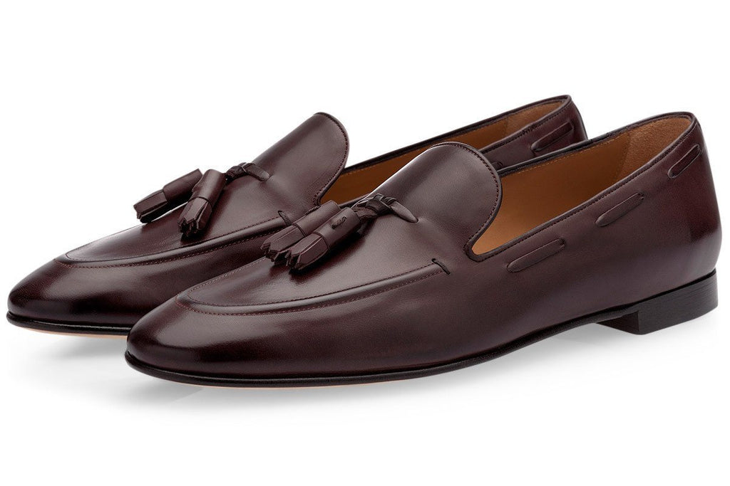 PHILIPPE NAPPA COCOA LOAFERS Loafers Superglamourous