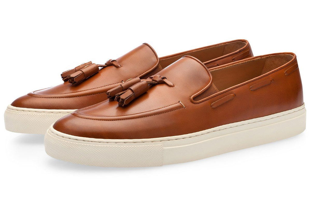 PHILIPPE NAPPA COGNAC SKATE Sneakers Superglamourous