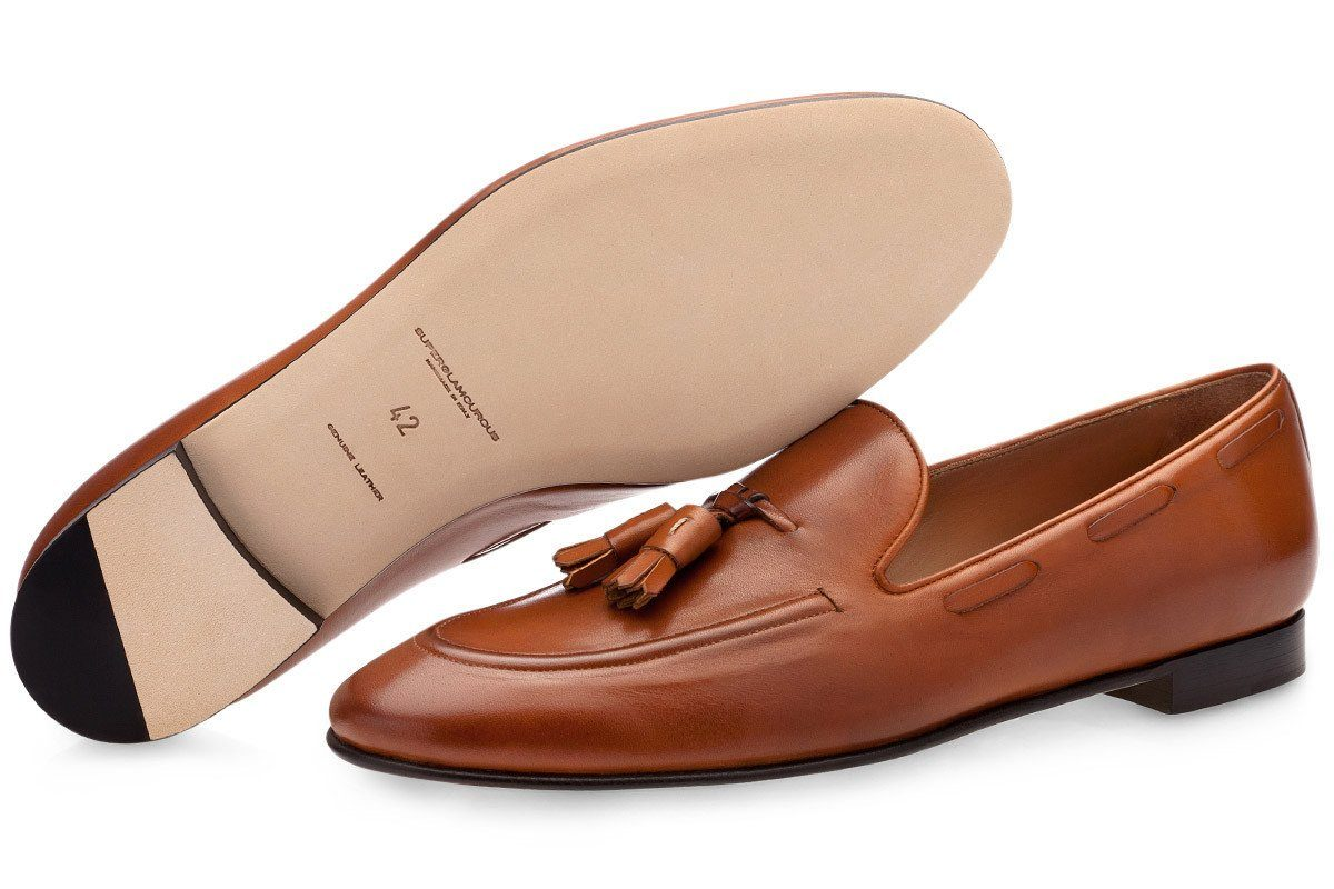 77d653c298a PHILIPPE NAPPA COGNAC LOAFERS. 1 ...