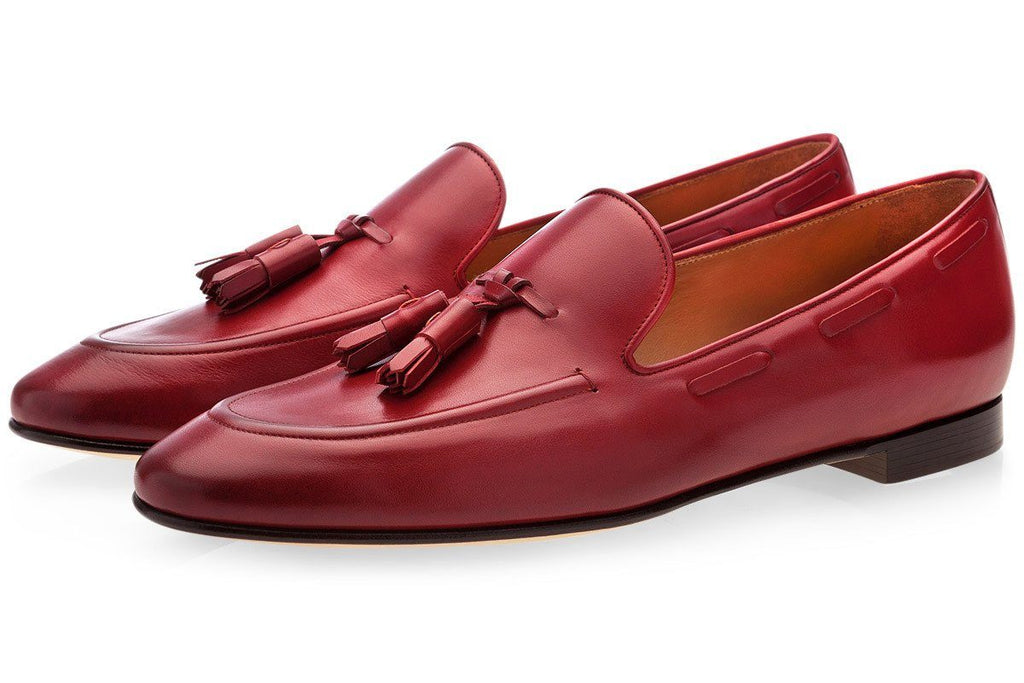 PHILIPPE NAPPA MARSALA LOAFERS