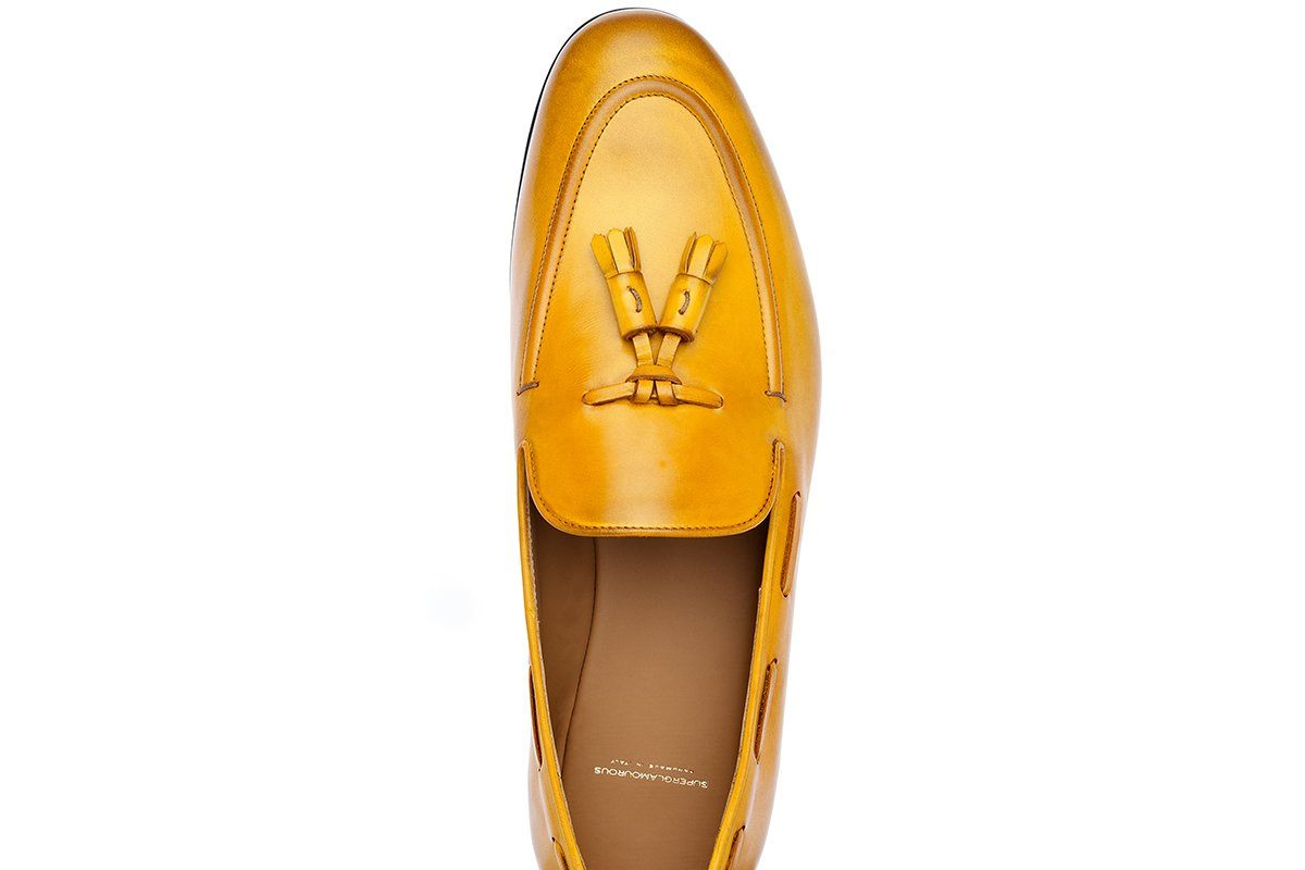 04a6ddb5242 PHILIPPE NAPPA MUSTARD LOAFERS. 1 · 2 ...