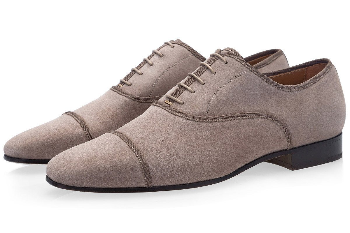 POLIN VELUKID TAUPE LACE UPS