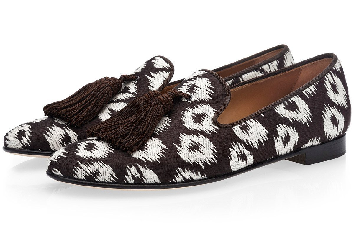 LOUIS RIVARENO COCOA SLIPPERS