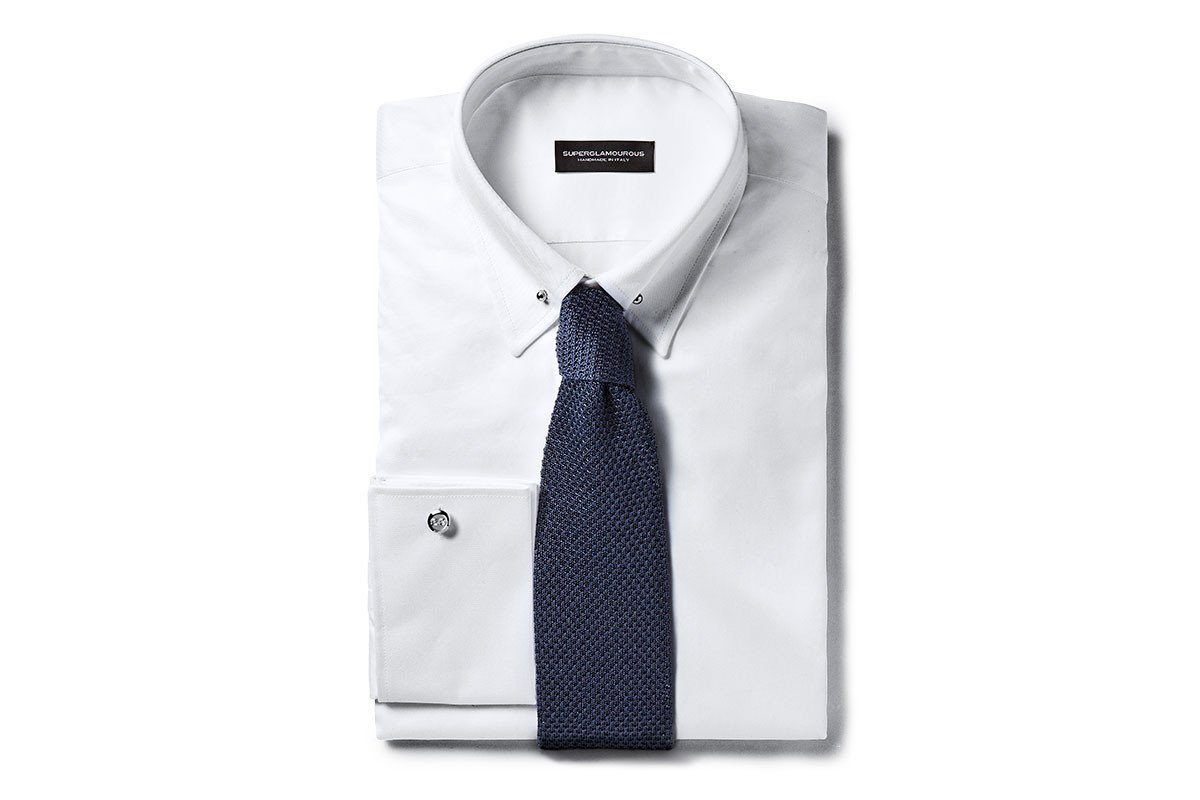 SANTAFE COTTON WHITE SHIRT