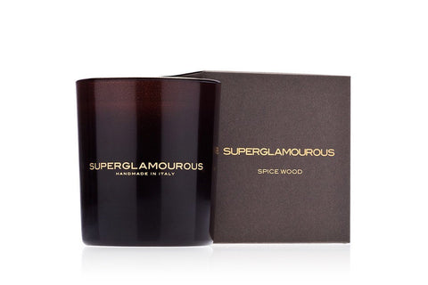 SPICE WOOD SCENTED CANDLE Candles Superglamourous