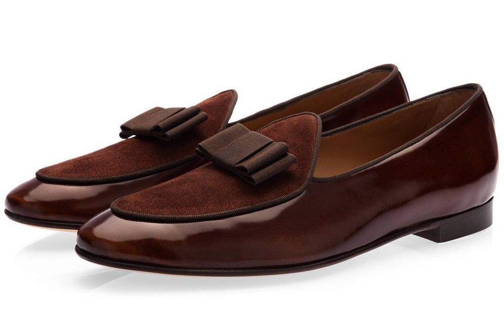 Dark brown Belgian loafers mens