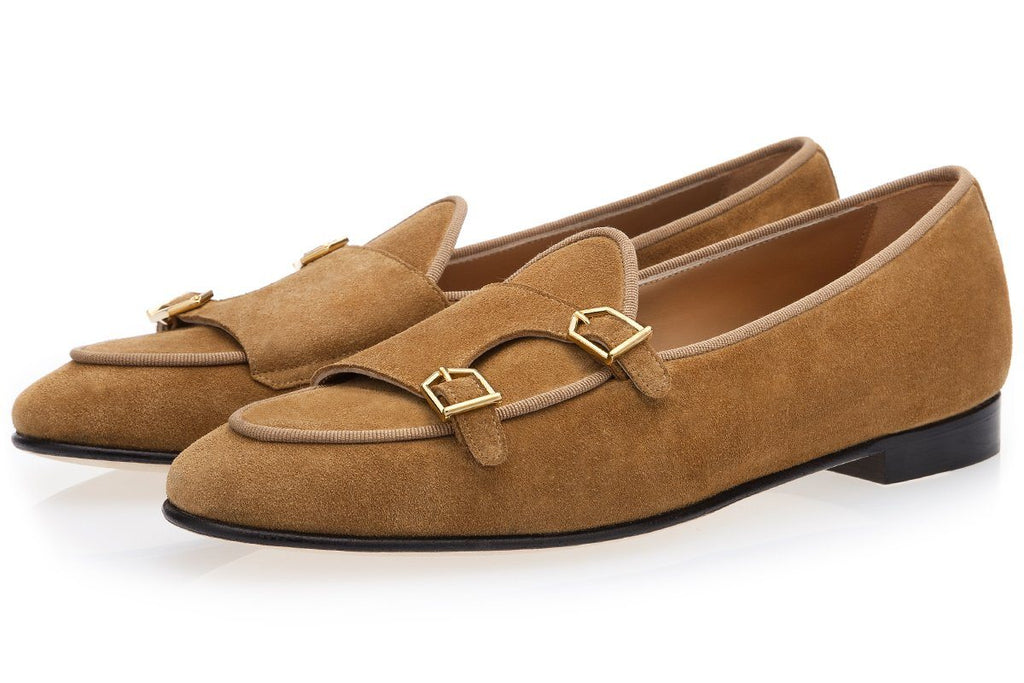 TANGERINE 7 SOFTY CARAMEL BELGIAN LOAFERS