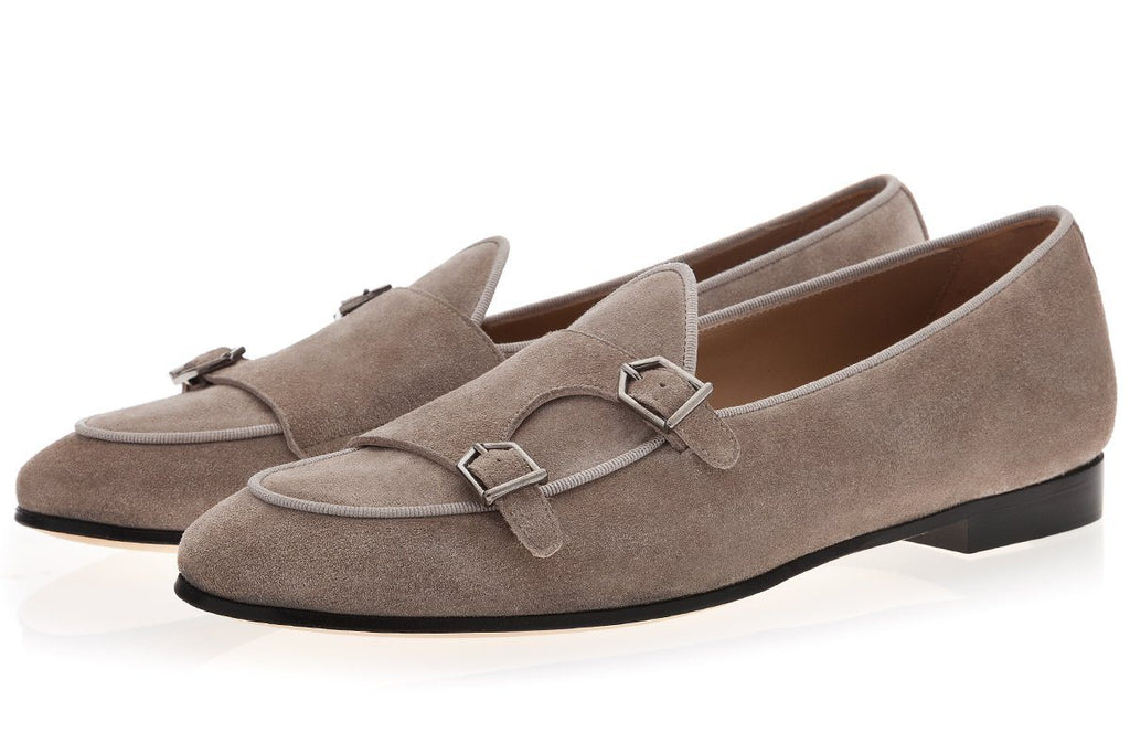 TANGERINE 7 SOFTY TAUPE BELGIAN LOAFERS