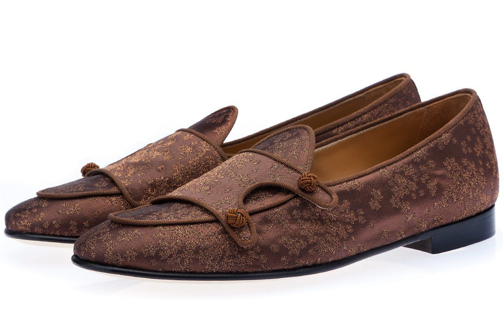 TANGERINE 7 TAITA COPPER BELGIAN LOAFERS