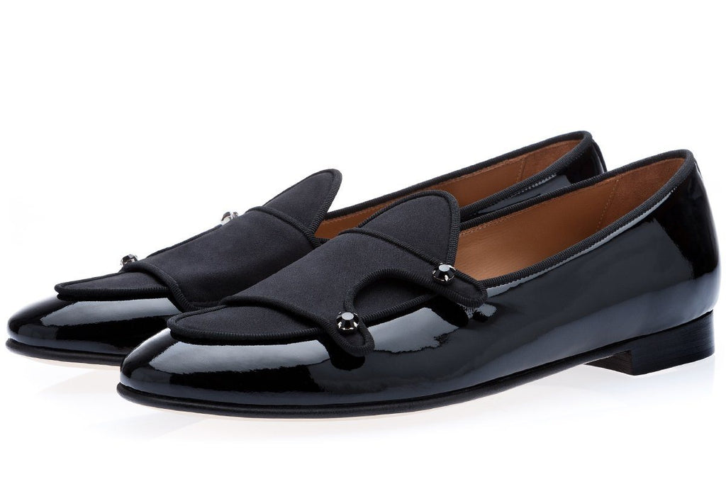 TANGERINE 7 MULTI BLACK BELGIAN LOAFERS Belgian Loafers Superglamourous