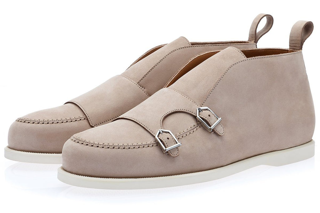 TANGERINE 7 NABUK TAUPE CARRY-OVER Sneakers Superglamourous