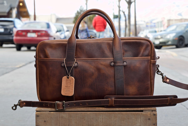 "20"" Weekender Duffle in Brown Nut Dublin"