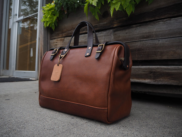 All Leather Milled Harness Doctors Bag