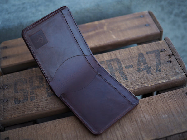 Standard Wallet in Brown Nut Dublin