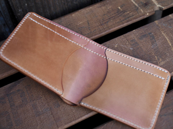 Marbled Shell Cordovan Wallet