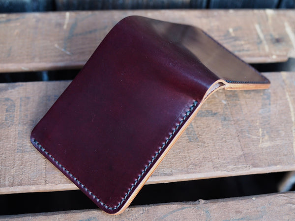 Color 8 Shell Cordovan Wallet