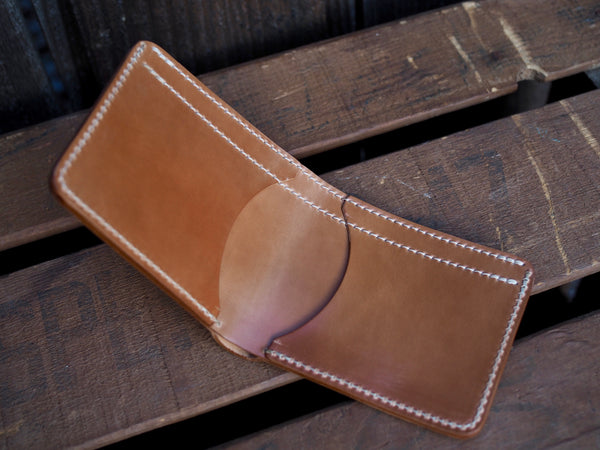 Natural Shell Cordovan Wallet