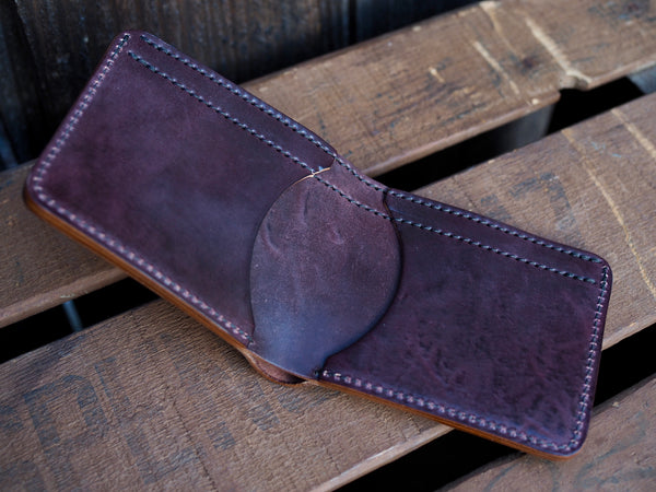 Tumbled Color 8 Shell Cordovan Wallet
