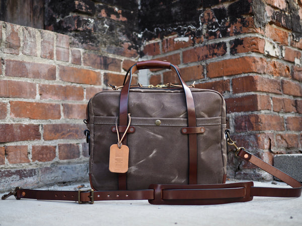 Briefcase in Ranger Tan/Cacao Harness