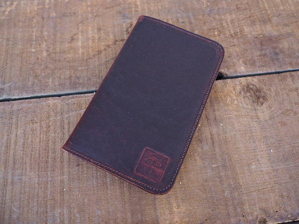 Field Notes/Passport Wallet in Chestnut Dublin