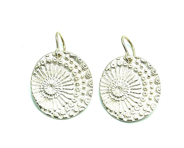 Sunburst Impression Earrings
