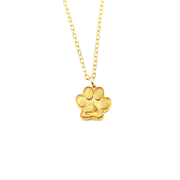 Zeb's Paw Print-Nantucket Necklace or Charm