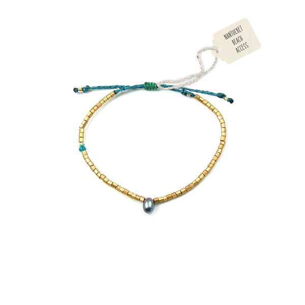Nantucket Beach Access #18 Bracelet