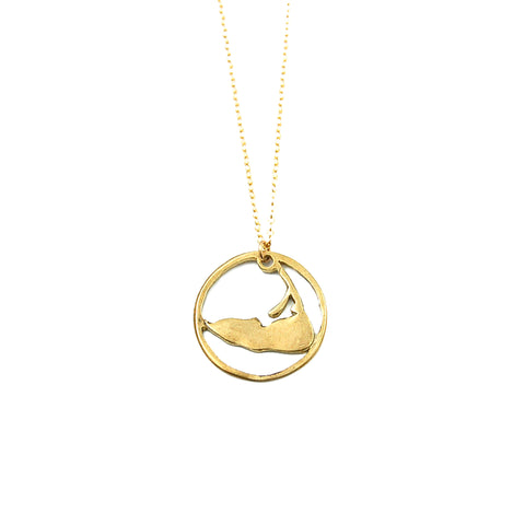 Ring Around Nantucket Necklace