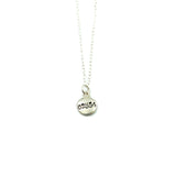 Nantucket Tiny Zip Code Pebble Necklace