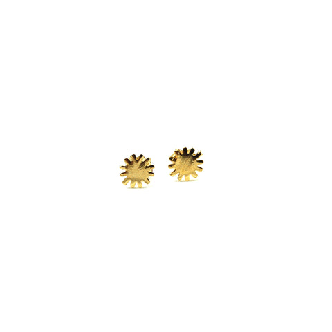 Mini Sun Post Earrings