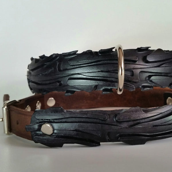 Black Water Dog collar