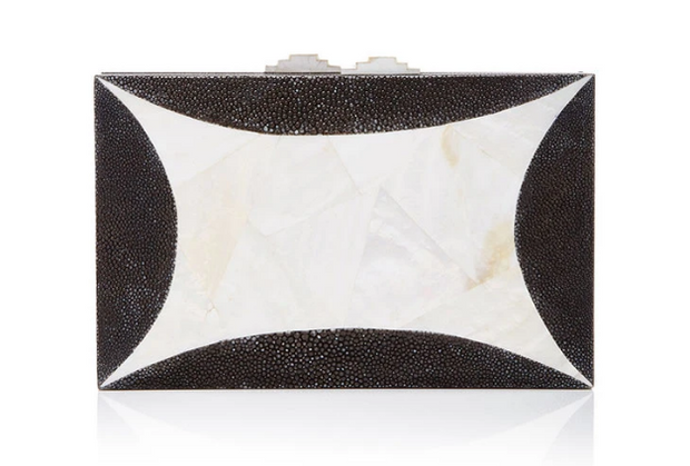 Starfish Clutch - White