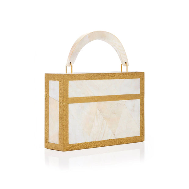 Lovebox Clutch - White | Anasastasia Vitkina Design | Anastasiavitkina.com