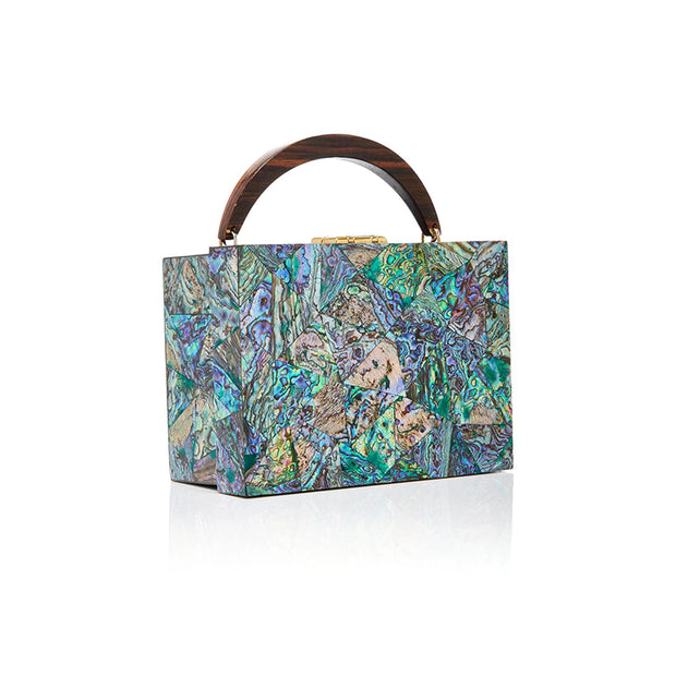 Lunch Box Clutch - Paua | Anasastasia Vitkina Design | Anastasiavitkina.com