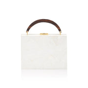 Lunch Box Clutch - White | Anasastasia Vitkina Design | Anastasiavitkina.com
