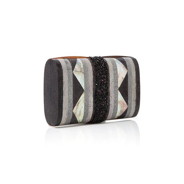 Tribal Clutch - Black | Anasastasia Vitkina Design | Anastasiavitkina.com